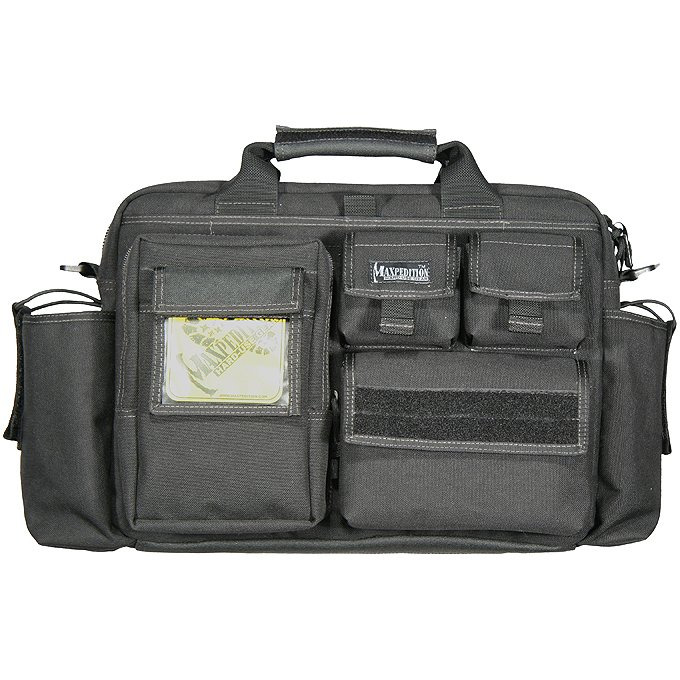 Maxpedition 0605B Operator Tactical Attache Bail Out Bag - Black