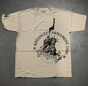 Advanced Armament Corp Libertee T-Shirt - Tan Size Large