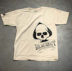 Advanced Armament Corp T-Shirt BLKOUT SPADE SIDE TAN LG