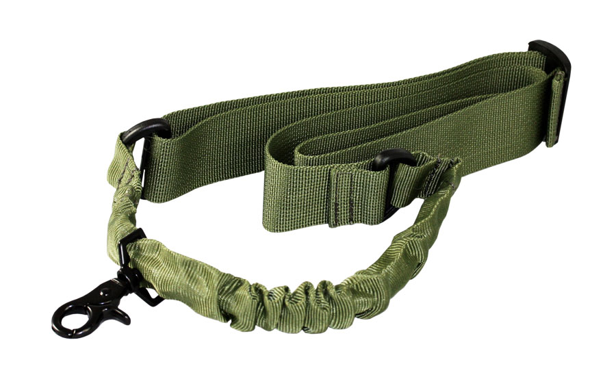 AIM Sports AOPS One Point Bungee Sling - OD Green