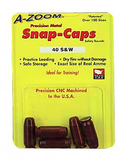 A-Zoom Snap Caps 5 Pack - .40S&W