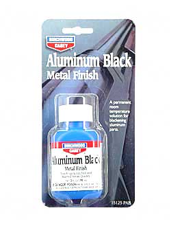 Birchwood Casey Aluminum Black Liquid 3oz Touch Up 6 Blister Card 15125