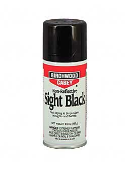 Birchwood Casey ASB Sight Black Liquid 3.5oz 6 Aerosol Can 33925