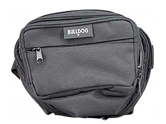 Bulldog Cases Fanny Pack Black Soft Small BD850