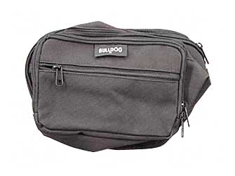 Bulldog Cases Fanny Pack Black Soft Medium BD860