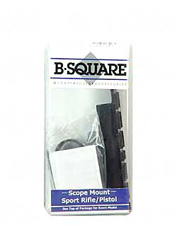 B-Square 1 Piece Base Matte Rings Carry Handle Colt AR-15/16, M16 18526