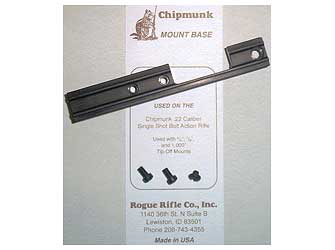 Keystone Sporting Arms Chipmunk 1 Piece Base Matte 80050