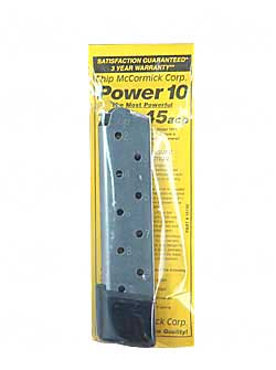 Chip McCormick Power10 10rd .45 ACP Mag