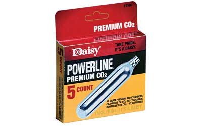 Daisy 7580 Powerline CO2 12 Gram Box 5/Bx 7580