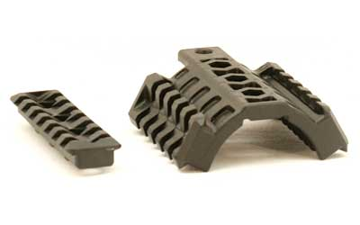 EMA Tactical Handguard Black 3 Rails - Two 45 Degree and One Center Standard Handguard TRM3