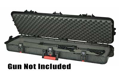 "Plano 42"" Tactical All Weather Single Rifle Black Hard 46""X16""X5.5"" 108420"
