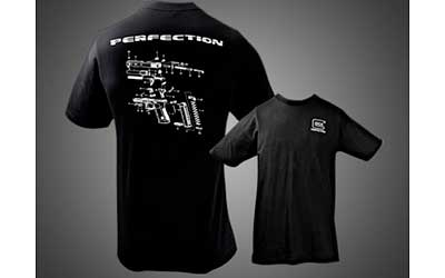 Glock Apparel Large Black T-Shirt GA10069