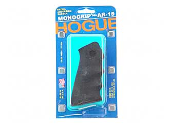 Hogue AR15/M16 Rubber Pistol Grip w/finger grooves - Black