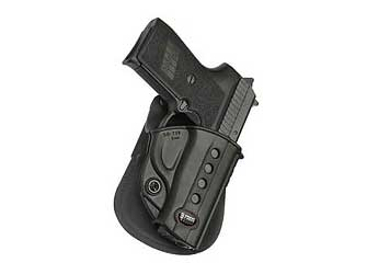 "Fobus E2 Paddle Holster Right Hand Black 3.6"" Sig 239 SG239"