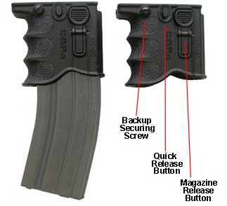 Mako MG-20 Quick Release Front Grip Magazine Adapter