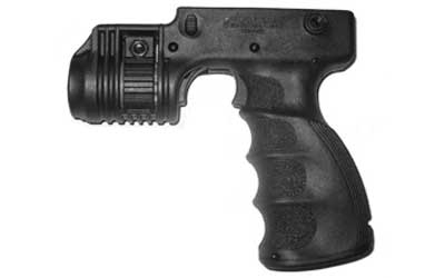 "Mako T-Grip Tactical Foregrip with 1"" Flashlight adapter - Black"