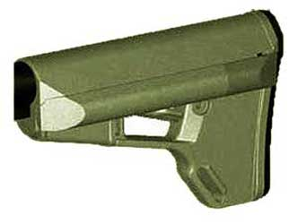 Magpul MAG370 ACS Adaptable Carbine/Storage Stock - OD Green