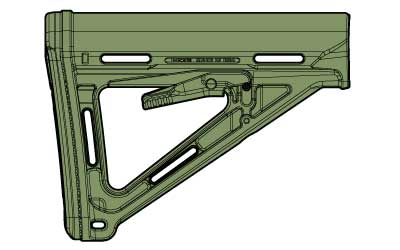 Magpul MAG400 MOE Collapsible Stock - Milspec FOLIAGE GREEN