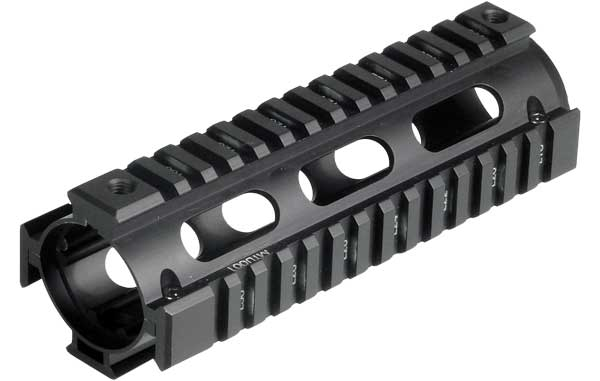 UTG Pro MTU001 US Made Quad Rail for AR-15 & M4 Carbines