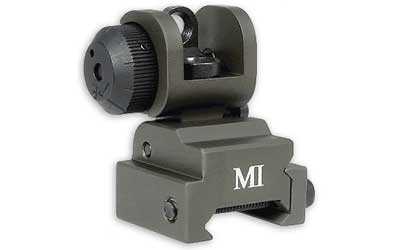 MI MCTAR-ERS Flip Up Rear Sight - OD Green