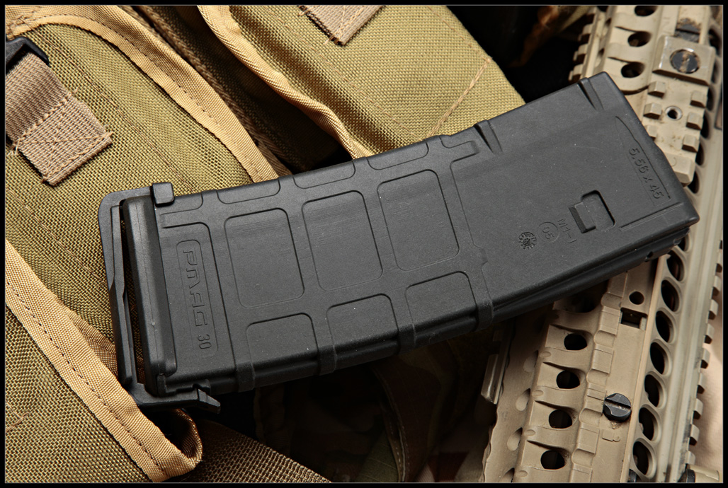 MagPul MAG211 Black PMAG 30 without window