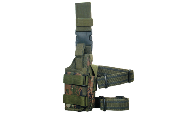 UTG Extreme Ops 188 Tactical Leg Holster - Woodland Digital