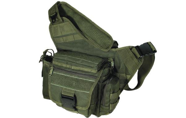 Сумка тактическая Leapers PVC-P218G зеленая.