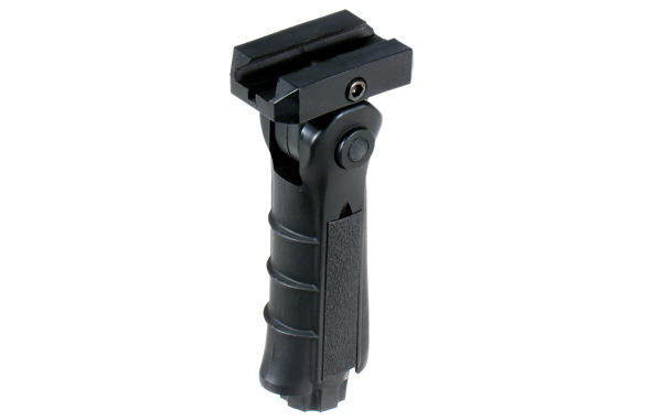 UTG RB-FGRP170B Ambidextrous Foldable Vertical Foregrip - Black
