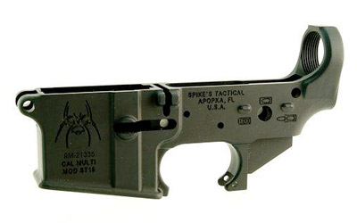 Spike's Tactical Stripped Lower Receiver (Spider)