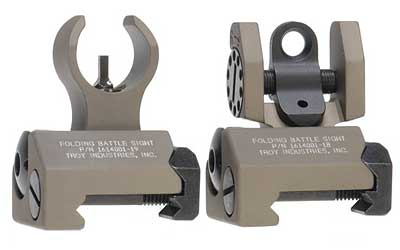 Troy BattleSight Micro Sight Desert Tan Front/Rear SSIG-IAR-SMFT-00