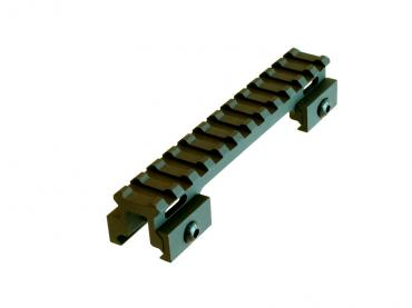 "Lion Gears BM1207 Tactical Picatinny .75"" Riser, 5"" Long with 12 Slots"