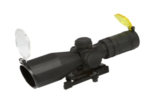 AIM JTXSDM3942G 3-9x42 IR Scope with Mil-Dot Reticle