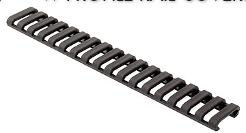 Ergo 4373 Low Profile Ladder Style Rail Cover 18 slot Black
