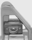 GG&G 1295 Quick Clip for Front Sight Tower
