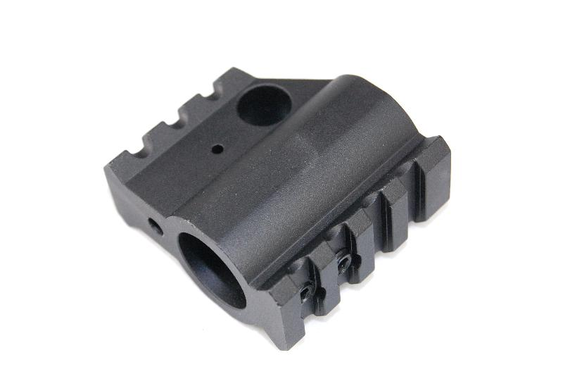 "Guntec .750"" AR-15 Upper Height Railed Gas Block"