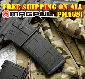 Free Shipping on all Magpul PMAG magazines including 20rd and 30rd 5.56 and 20rd PMAG LR .308