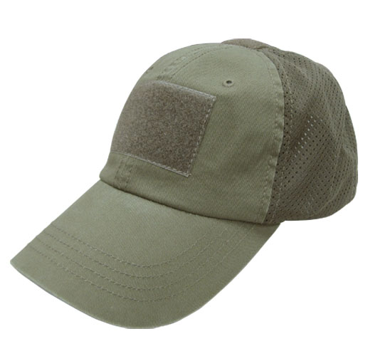Condor TCM-001 Tactical Mesh Cap - OD Green