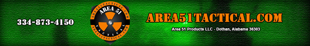 Area 51 Products LLC - your source for tactical weapons parts and accessories - 334-873-4150